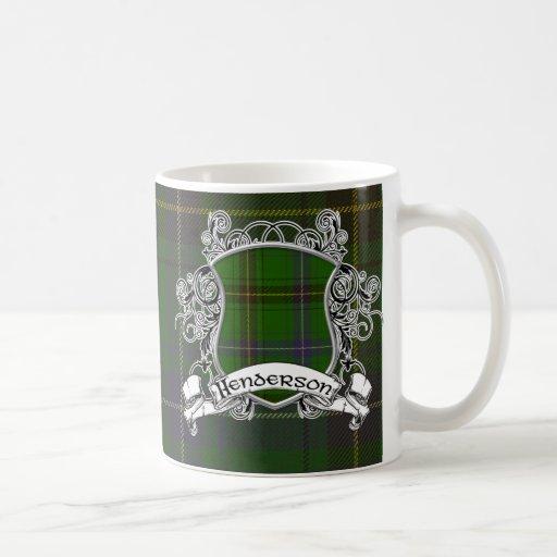 Henderson Tartan Shield Coffee Mug
