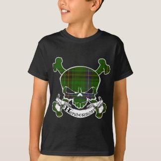 Henderson Tartan Skull T-Shirt