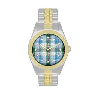 Henderson Tartan Two-tone Watch