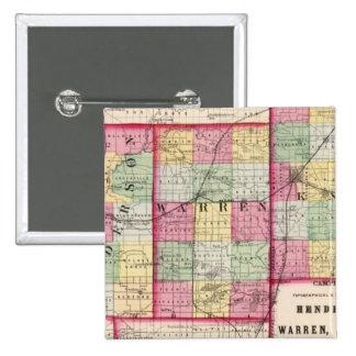 Henderson, Warren, Knox counties 15 Cm Square Badge