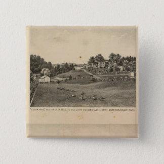Hendren residences 15 cm square badge