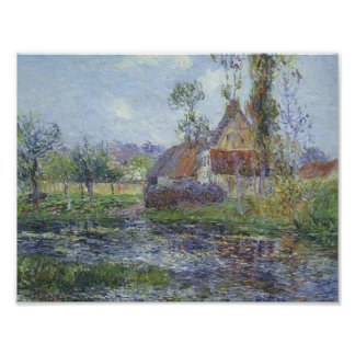 Hendreville by the Eure River by Gustave Loiseau Posters