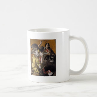 Hendrick Terbrugghen- The Annunciation Coffee Mugs