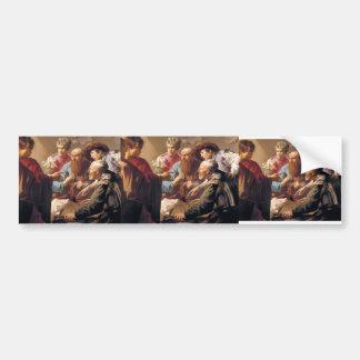 Hendrick Terbrugghen- The Calling of St. Matthew Bumper Sticker