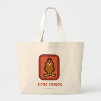 Henery Hawk Little Pecker Large Tote Bag