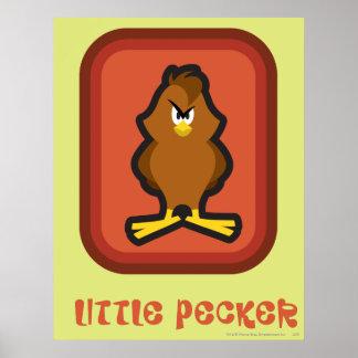 Henery Hawk Little Pecker Poster