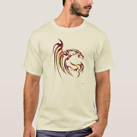 Henham the Metallic Red and Gold Dragon T-Shirt
