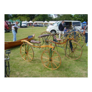 Henley on Thames, Antique bicycles 1 Postcard