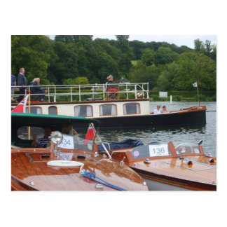 Henley on Thames, Traditional boat Postcard