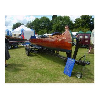 Henley on Thames, Traditional canoe Postcard