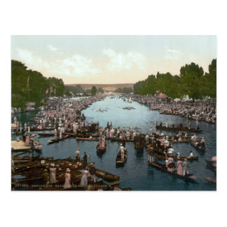Henley Regatta, Henley-on-Thames, c.1895 Postcard