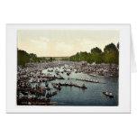 Henley Regatta, I., London and suburbs, England cl Greeting Card