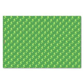Henna Elephant (Green/Lime Green) Tissue Paper