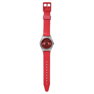 Henna Elephant (Red/Pink) Watch