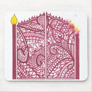 Henna Gate Mouse Mat