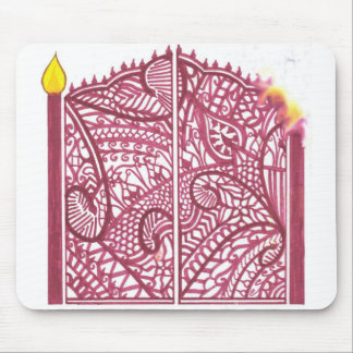 Henna Gate Mouse Pad