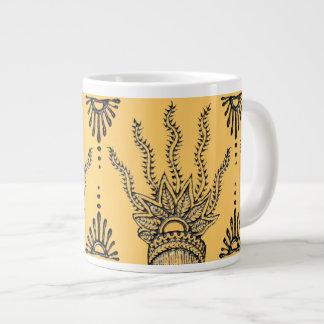 Henna Hand Jumbo Mug