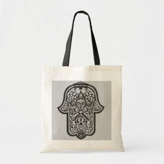 Henna Hand of Hamsa (Original) Budget Tote Bag