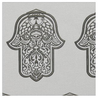 Henna Hand of Hamsa (Original) Fabric