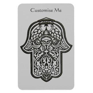Henna Hand of Hamsa (Original) Rectangular Photo Magnet