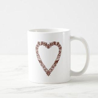 Henna Heart Design Mug