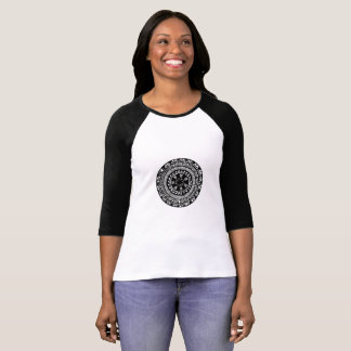 Henna inspired circle design t-shirt