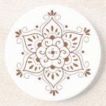 Henna Mandala Coster Beverage Coaster