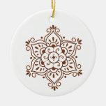 Henna Mandala Ornament