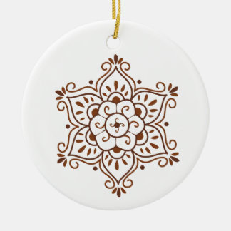 Henna Mandala Ornament