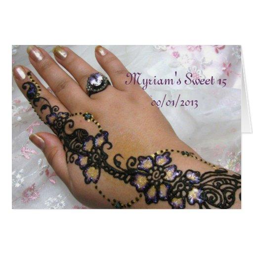 Henna Mehndi Stores Uk : Henna mehndi card zazzle