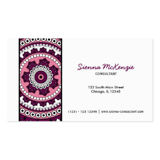 Henna Mehndi Consultant Business Cards