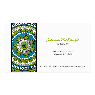 Henna Mehndi Consultant Pack Of Standard Business Cards