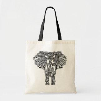 Henna Mehndi Decorated Indian Elephant