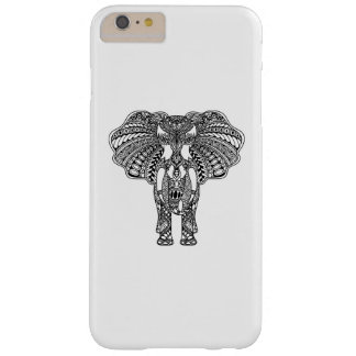 Henna Mehndi Decorated Indian Elephant Barely There iPhone 6 Plus Case