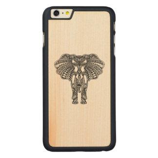 Henna Mehndi Decorated Indian Elephant Carved® Maple iPhone 6 Plus Case