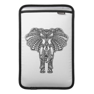 Henna Mehndi Decorated Indian Elephant Sleeve For MacBook Air
