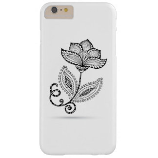Henna Paisley Mehndi Doodles Barely There iPhone 6 Plus Case
