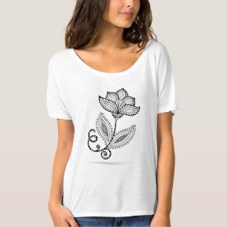Henna Paisley Mehndi Doodles T-Shirt