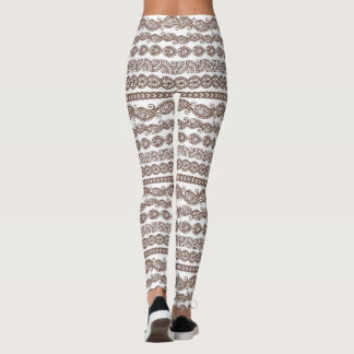 Henna Pattern Leggings