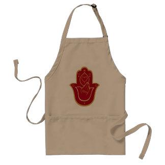 Henna Peace and Love Hamsa Aprons