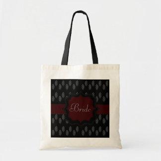 Henna Peacock Budget Tote Bag