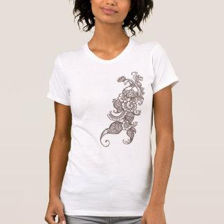 henna peacock t-shirts