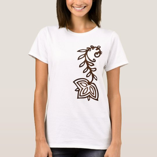 henna shoulder T-Shirt