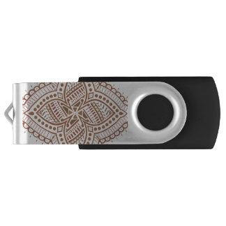 Henna USB Flash Drive Swivel USB 3.0 Flash Drive