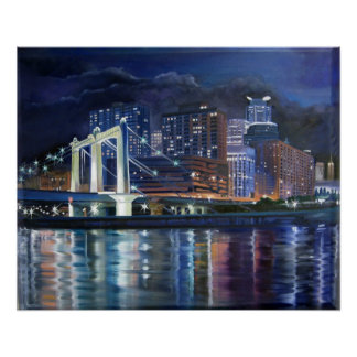 HENNEPIN BRIDGE REFLECTIONS POSTERS