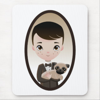 Henri and Pepper Mouse Pad