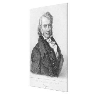 Henri Benjamin Constant de Rebecque  as Deputy Canvas Print