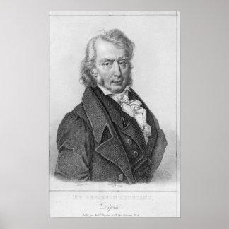 Henri Benjamin Constant de Rebecque  as Deputy Poster