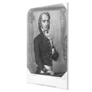 Henri Benjamin Constant de Rebecque at the Canvas Print