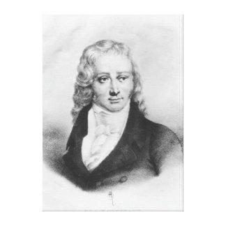 Henri Benjamin Constant de Rebecque Canvas Print